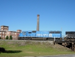 NS 6717 in front of Whaley's Mill